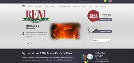 REM - Novo Site com CMS WordPress e Multilínguas