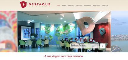 Destaque Turismo - Personalização de Template