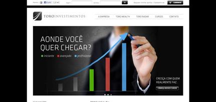 TORO Investimentos  - Site de E-commerce