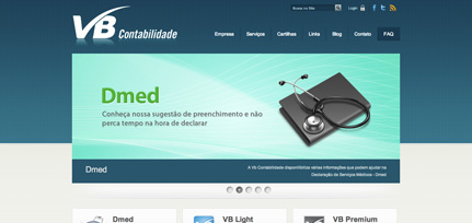 VB Contabilidade - Site Institucional