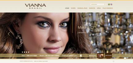 Vianna Brasil - Site Institucional