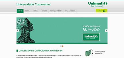 Unimed BH - Portal Universidade Corporativa